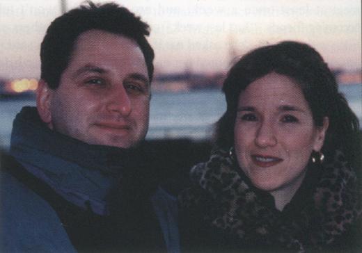 <em>Andrew and Nancy Giambalvo.</em>