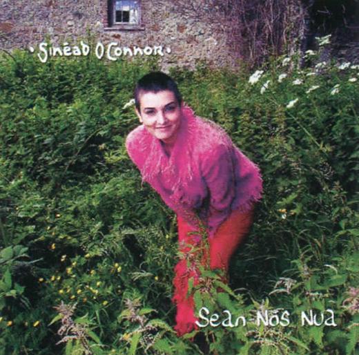 <em>The album cover for Sinéad O'Connor's </em>Sean-Nós Nua.