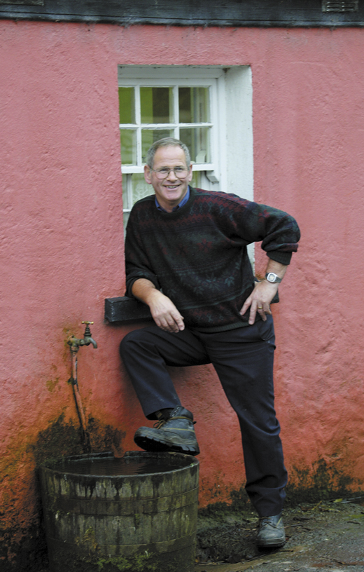 <em>Michael Swords, caretaker at Bunratty Castle.</em>