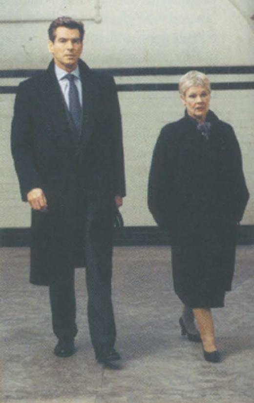 <em>Brosnan's Bond adventures with Dame Judi Dench.</em>
