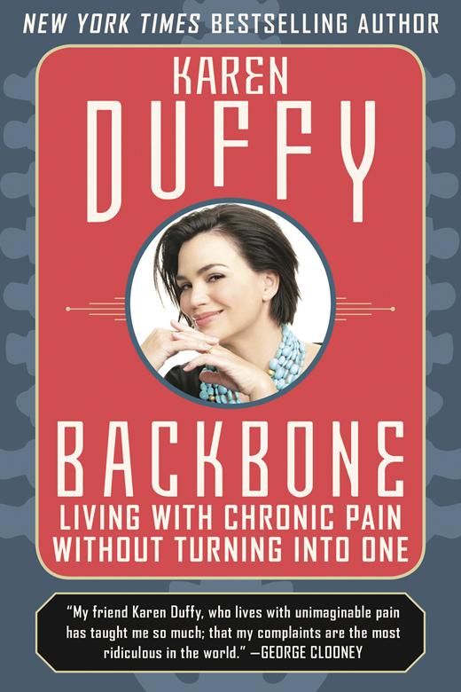 <em>Karen Duffy's book outlining her experiences.</em>