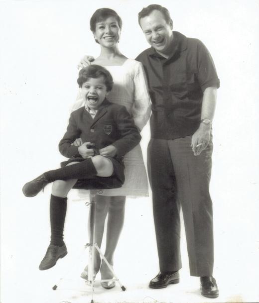 Lupe O'Farrill, Chico O'Farrill (Arturo's parents), and little Arturito!