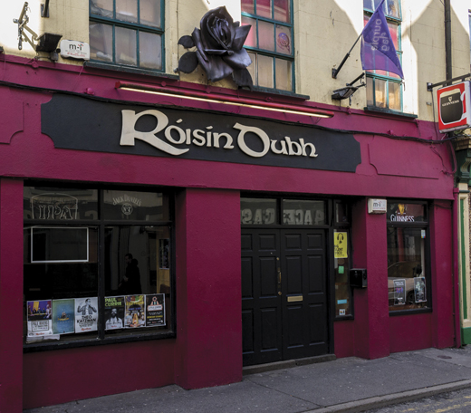 Róisín Dubh, the legendary live music venue in Galway City.