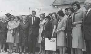 JFK and family members in Ireland in June 1963.