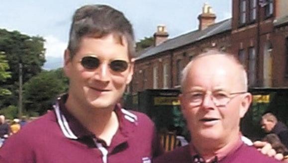 <em>Brian and Bernie at Croke Park - 2001.</em>