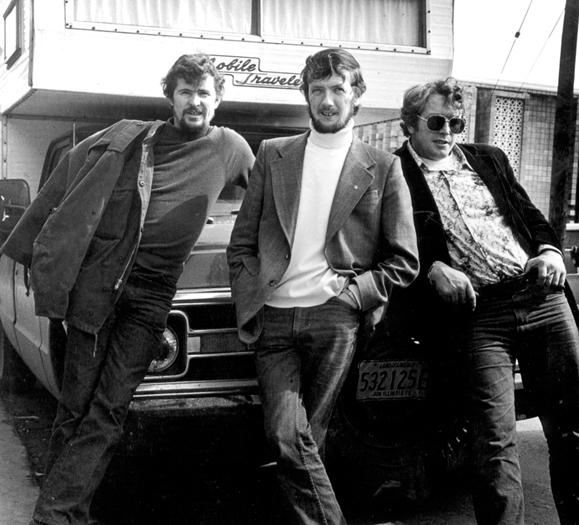 <em>Fairbanks, Alaska - Irishmen at the Labourors Union Hall in 1975.</em>