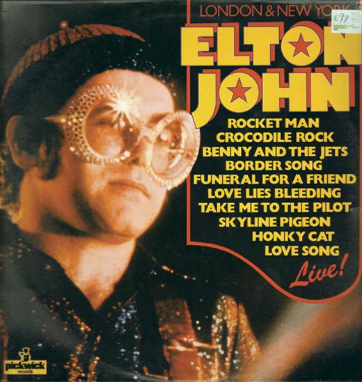 <em>Elton John Live LP.</em>
