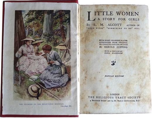 Louisa May Alcott's Little Women.